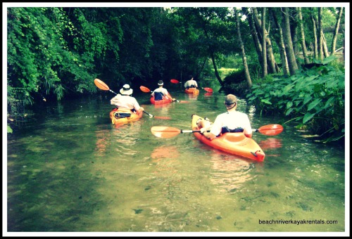 BeachnRiver Kayak Rentals Sends Kayakers Toward Bon Secour River